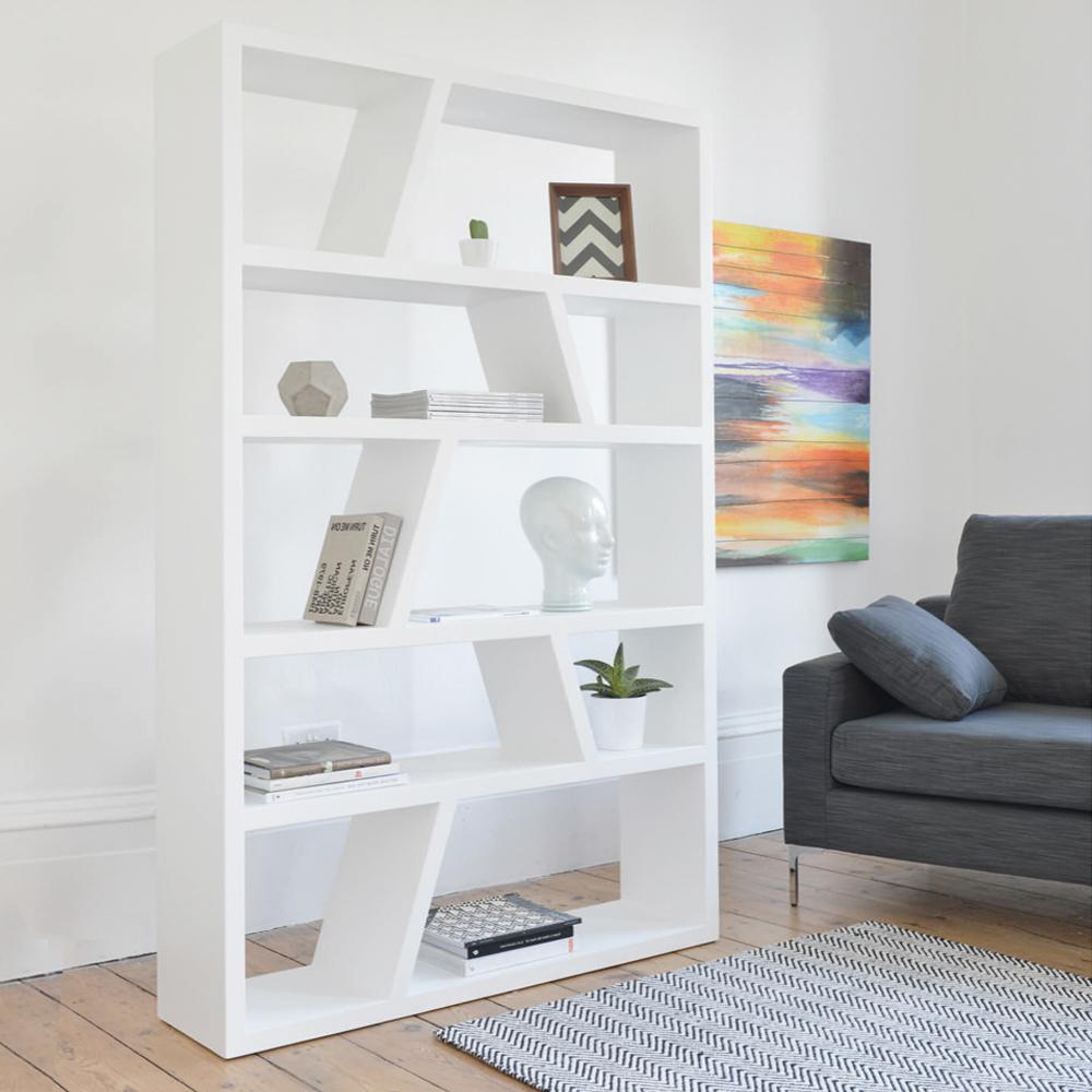 Stratto wide shelving white