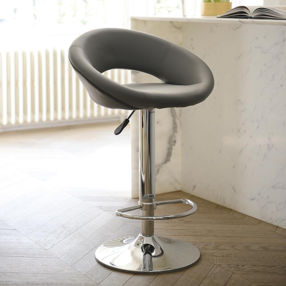 Tenti bar stool grey