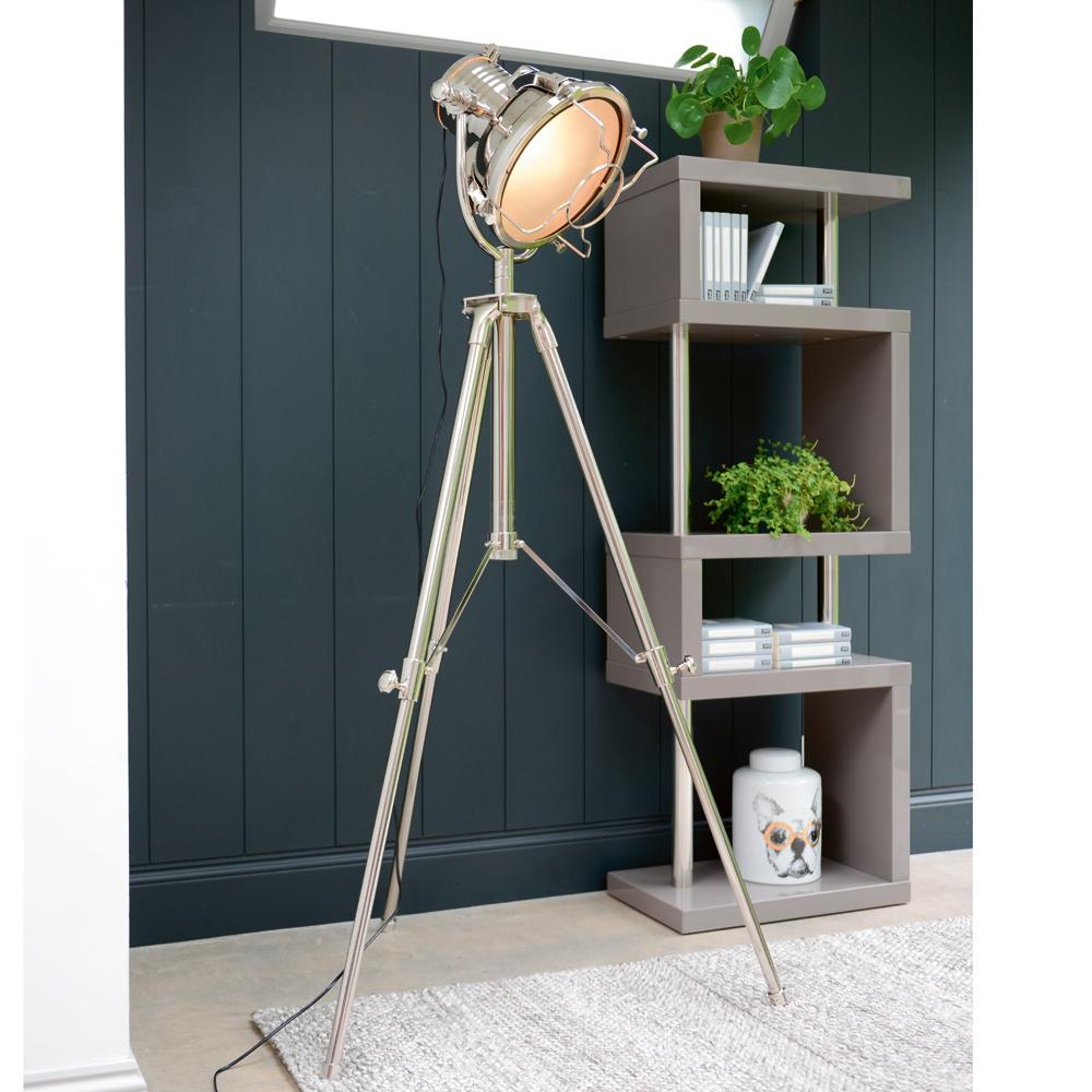 Giant searchlight tripod light
