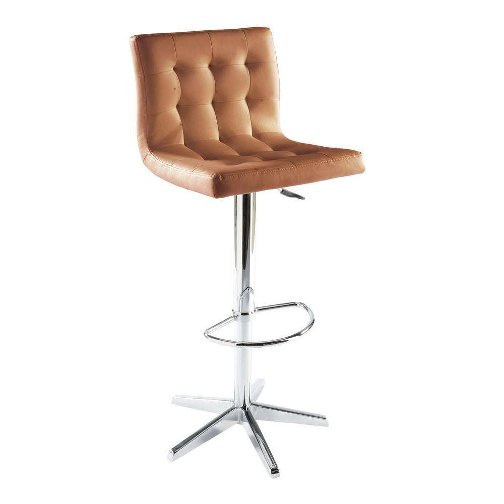 Lisse bar stool tan