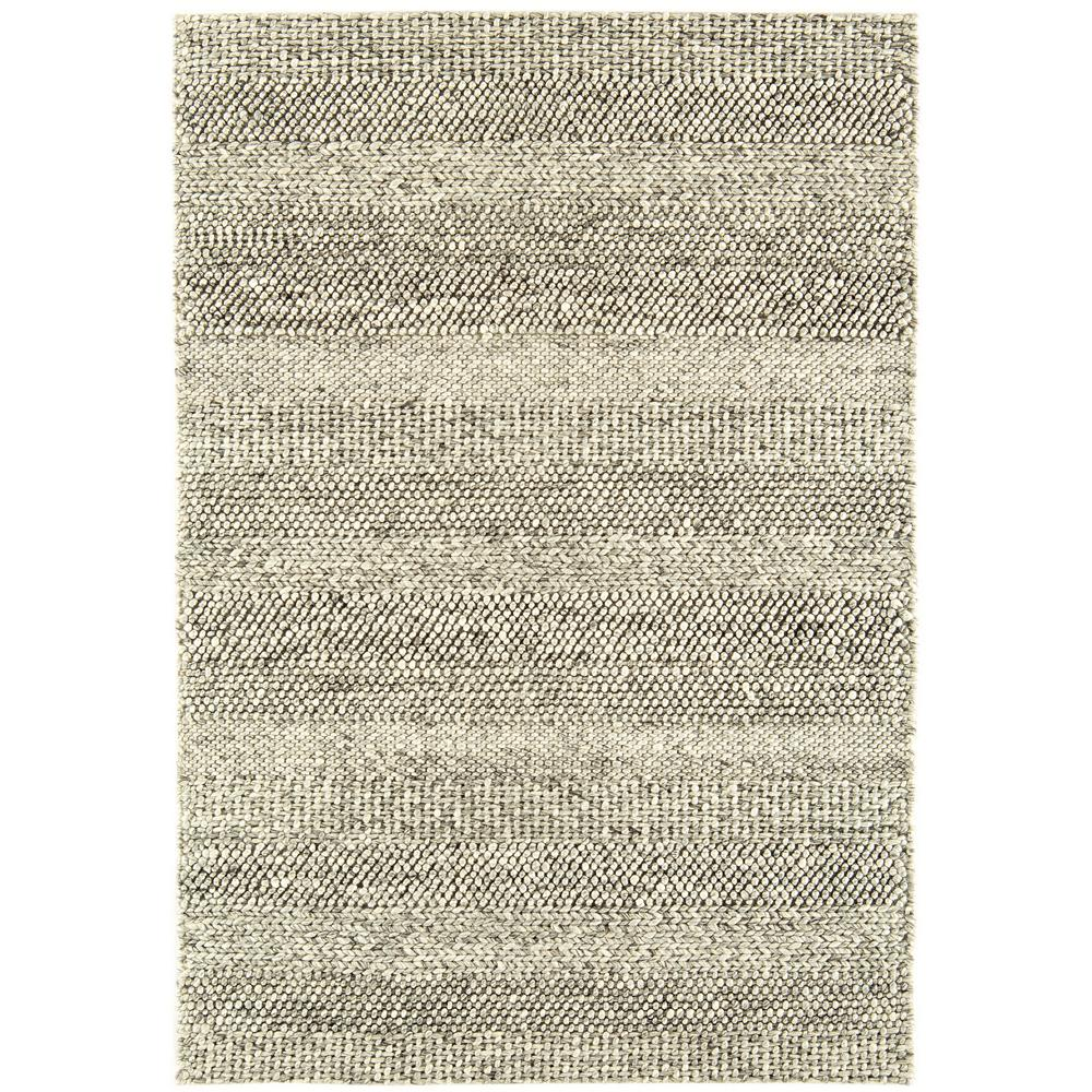 Lineas rug large grey marl stripe