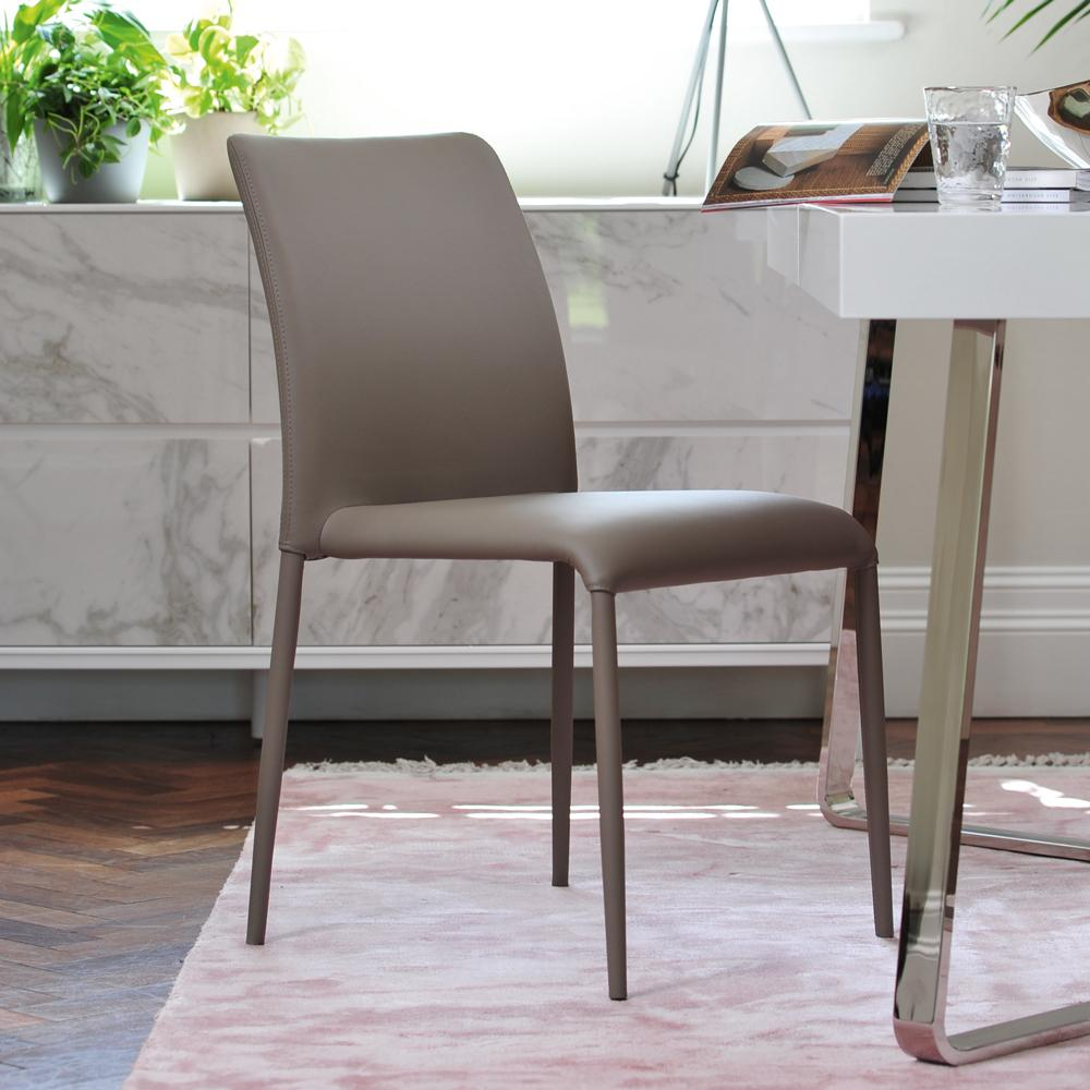 Svelte dining chair stone