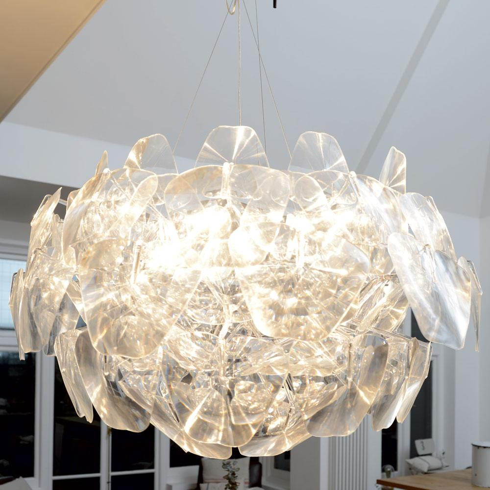 Sphere ball pendant light  large