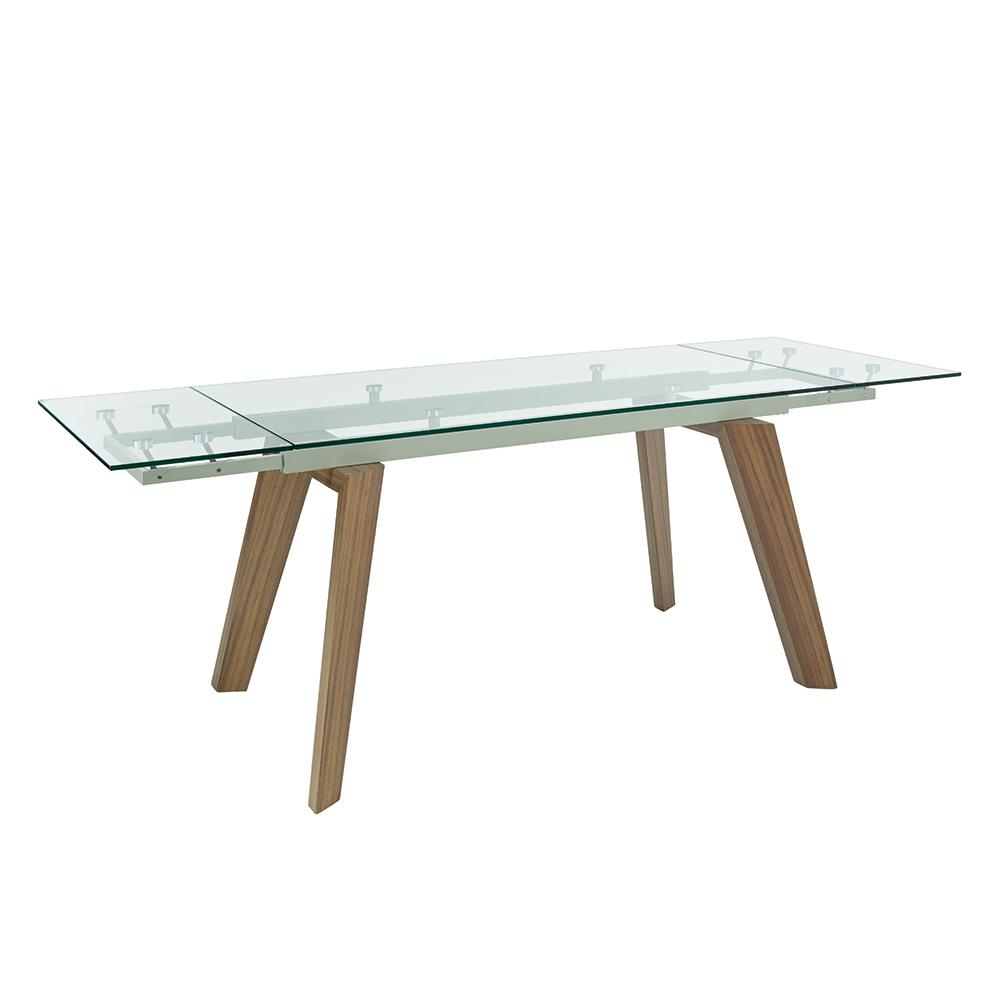 Panama Glass Extending 6 8 Seater Dining Table Dwell