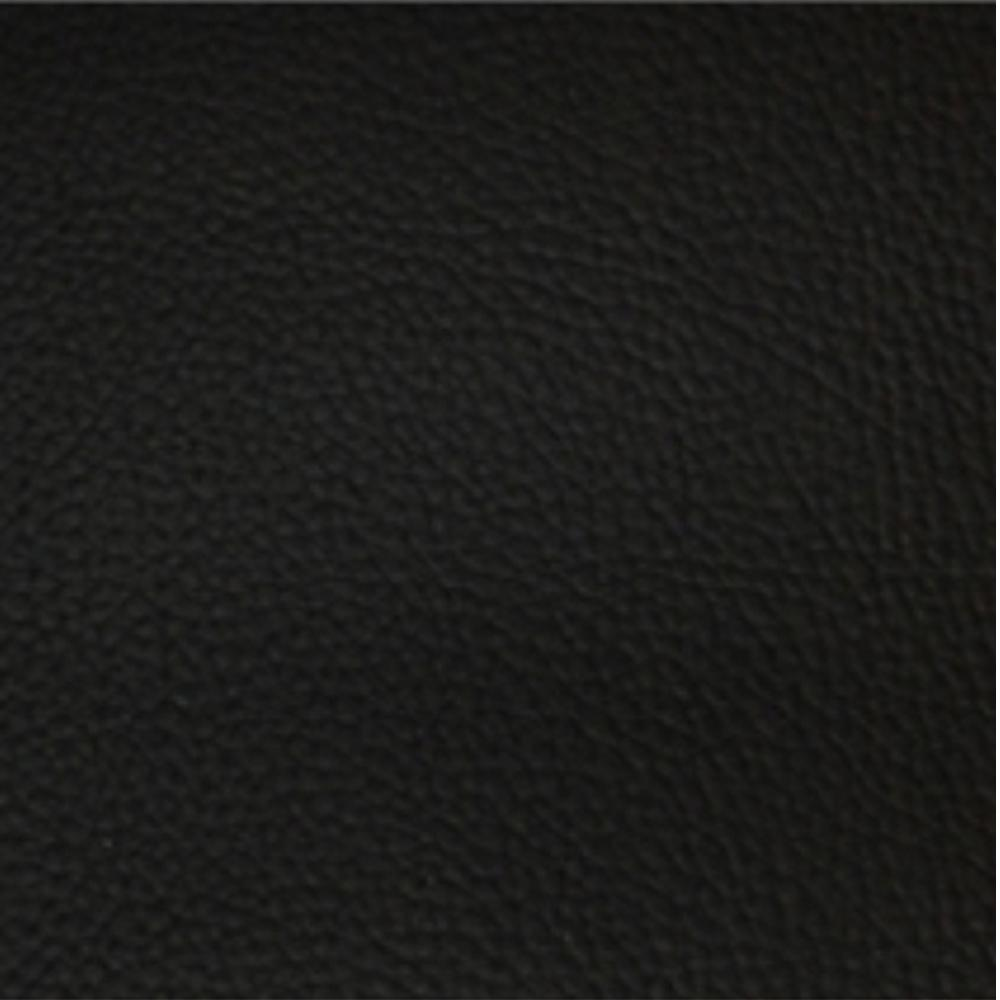 Fabric sample for black faux leather - Vienna range