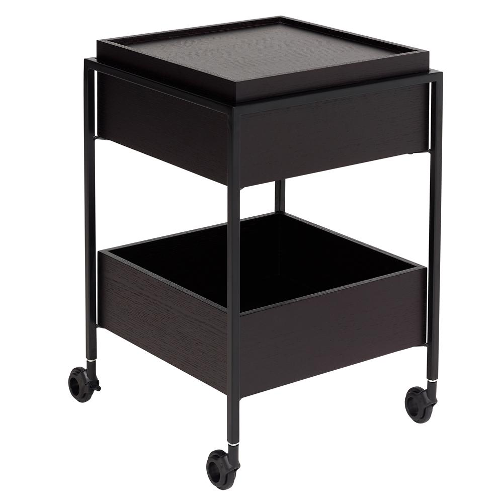 Divario trolley darkwood
