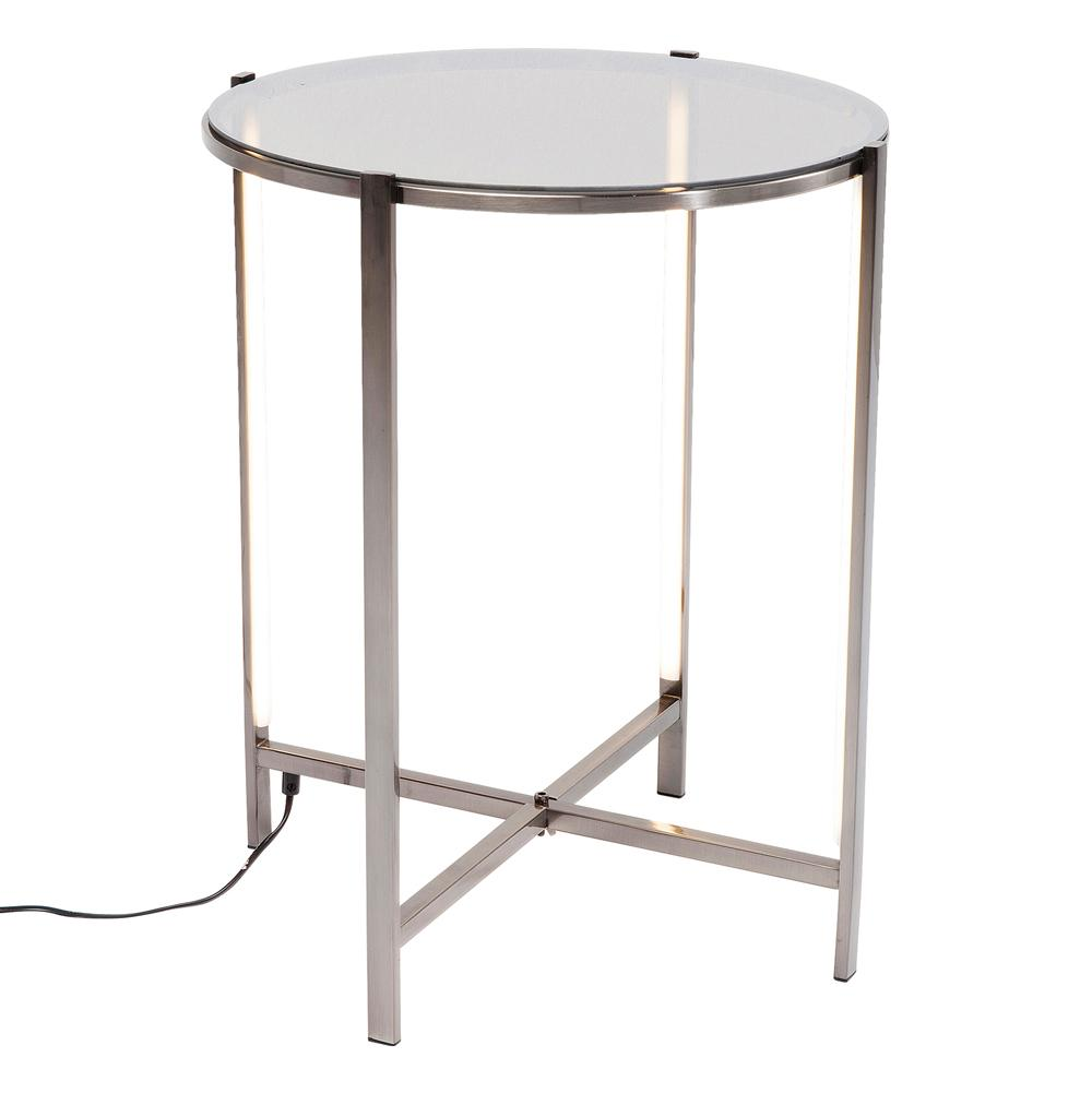 Illumiate LED side table
