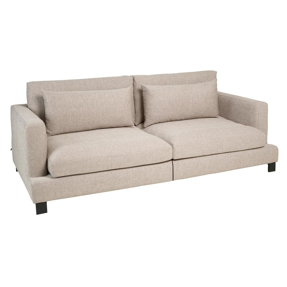 Lugano II four seater sofa sand