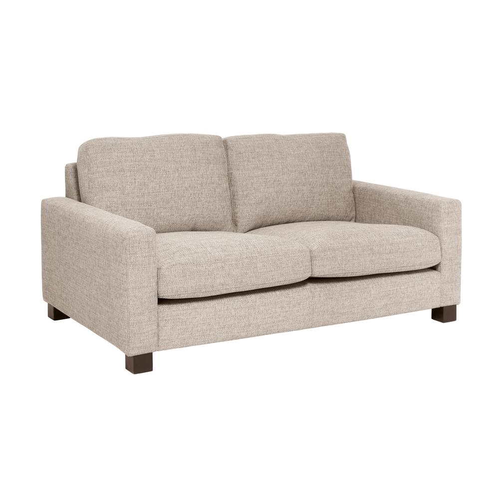 Monaco two seater sofa sand fabric