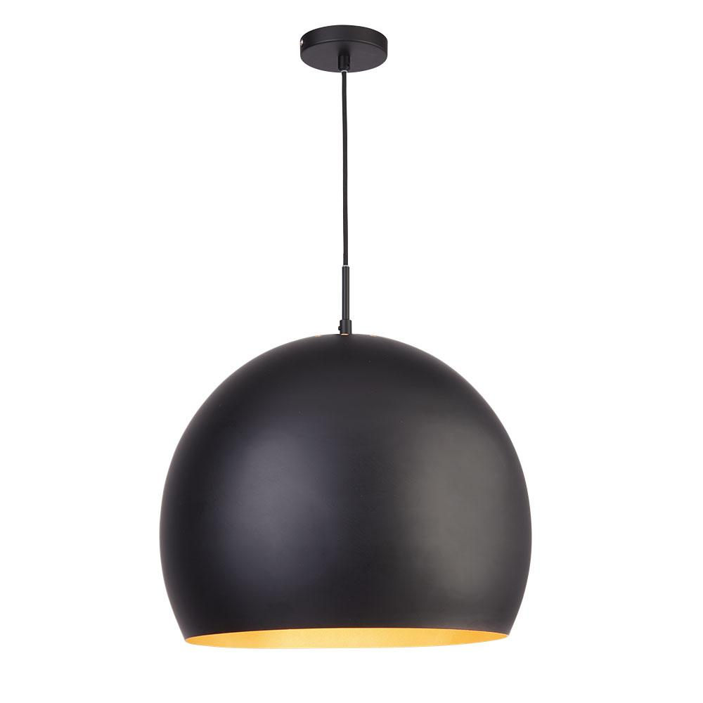 Mondo ceiling light black and gold