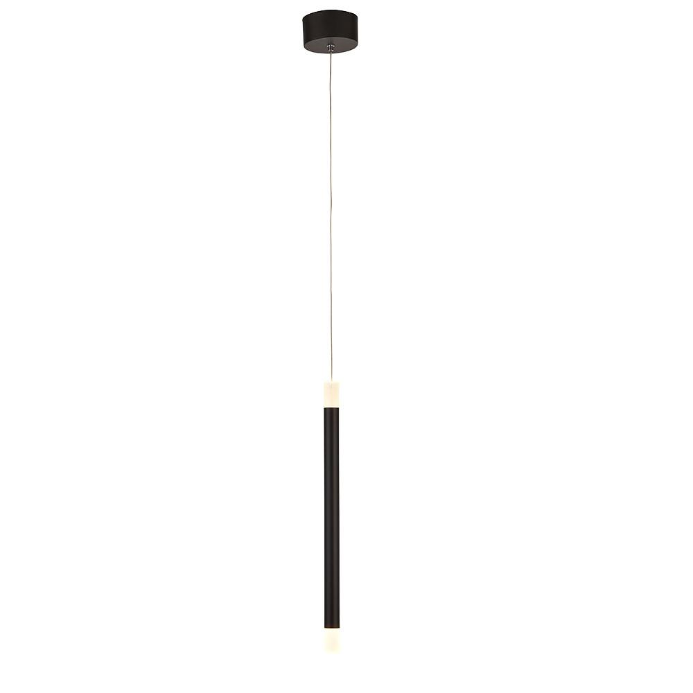 Cabo single ceiling light black