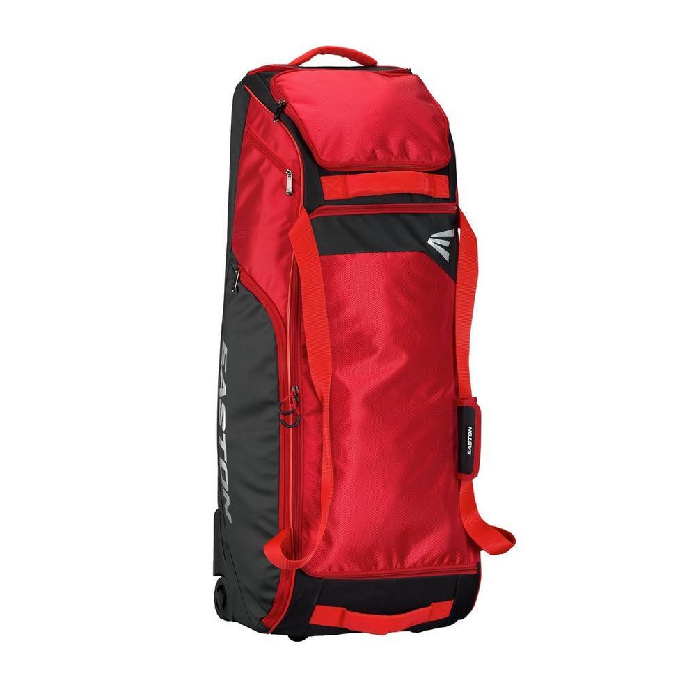 DUGOUT BAT & EQUIPMENT WHEELED BAG RED