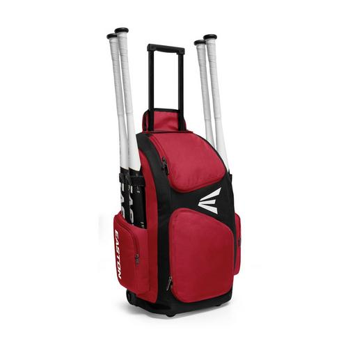 TRAVELER STAND UP WHEELED BK/RD,Red,medium