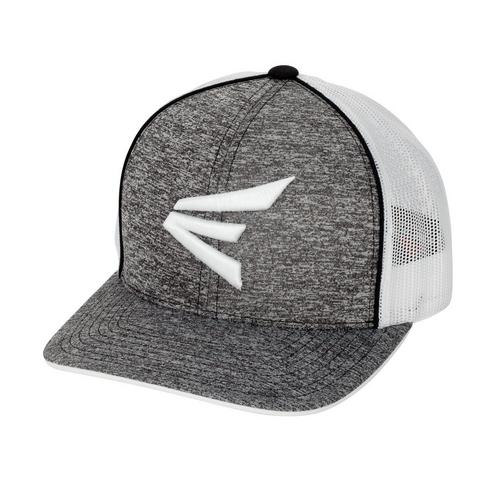 EASTON HEATHERED SNAPBACK BKWH,Black/White,medium