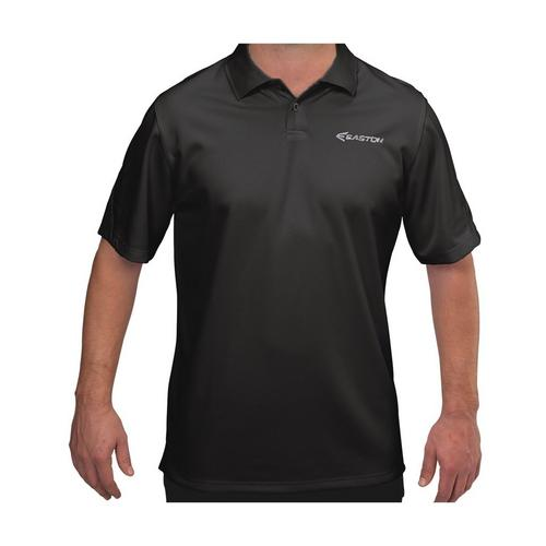 BRIGADE POLO BK XL ,Black,medium
