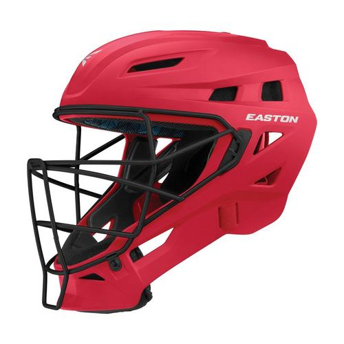 ELITE-X C-HELMET RY/SL L,Red/Silver,medium