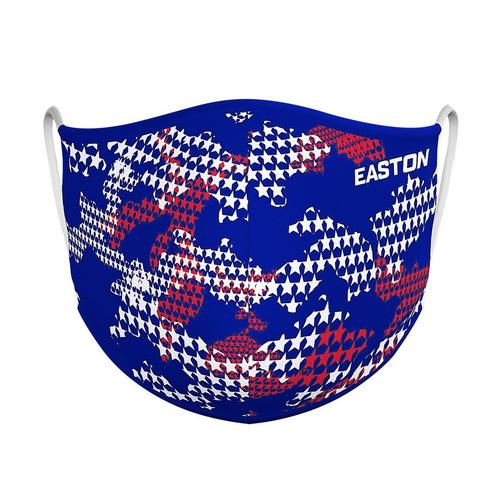 EASTON REVERSIBLE FACE MASK STARS/NY,STARS & STRIPES / ROYAL,medium
