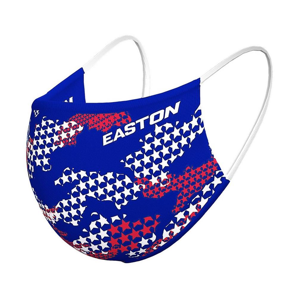 EASTON REVERSIBLE FACE MASK STARS/NY