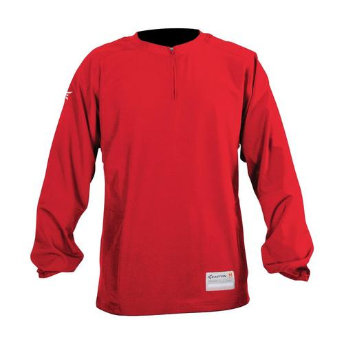 FUZE CAGE JACKET L/S RD L,RED,medium