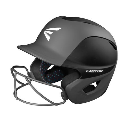 GHOST BATTING HELMET W/MASK L/XL MATT TWO-TONE BLACK/CHARCOAL,Black/Charcoal,medium