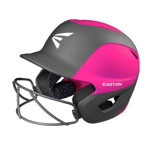 GHOST BATTING HELMET W/MASK L/XL MATT TWO-TONE PINK/CHARCOAL,Pink/Charcoal,medium