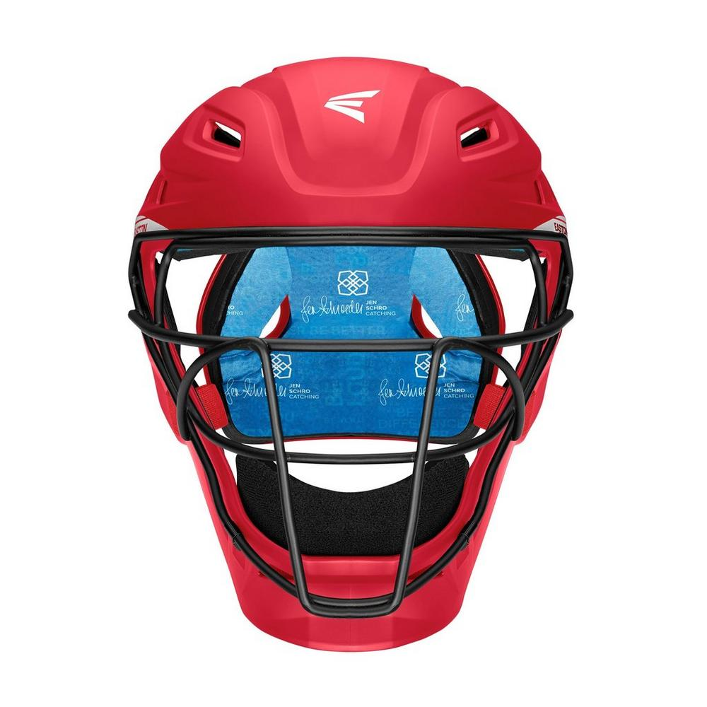 JEN SCHRO THE VERY BEST CATCHERS HELMET LARGE RED