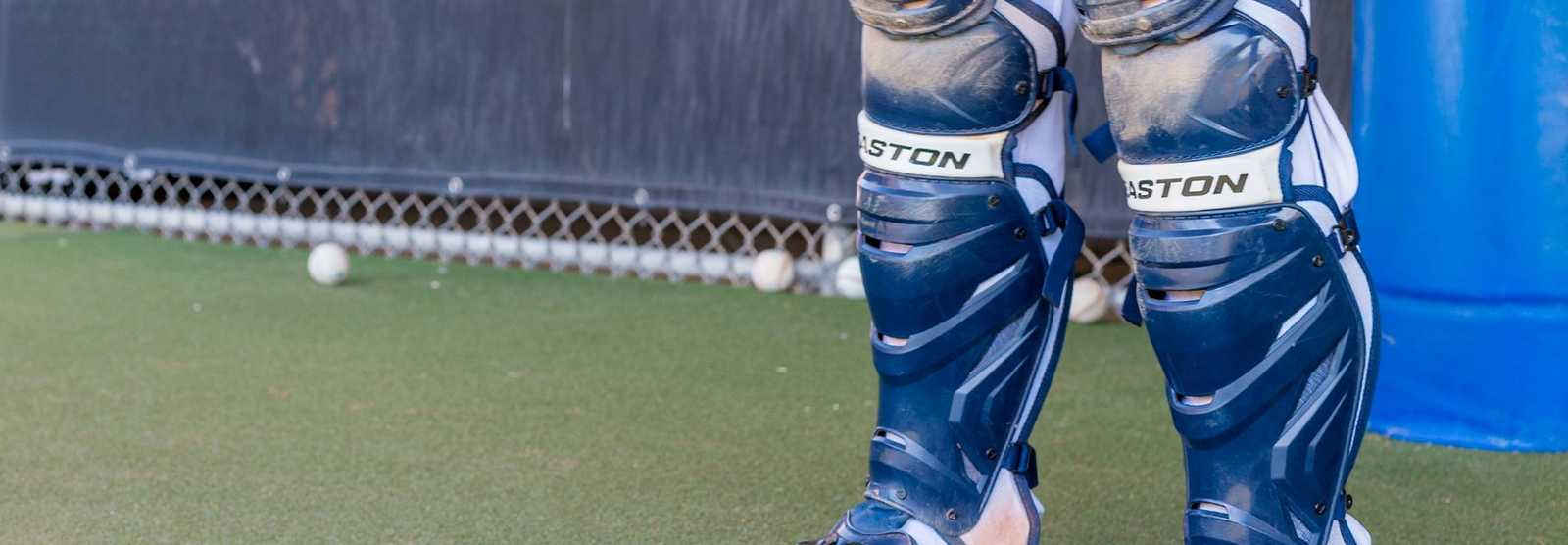 baseball-catchers-leg-guards
