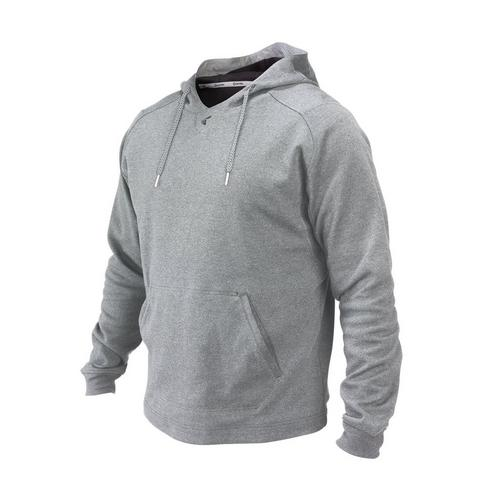 M10 TECH FLEECE HOODIE AH L,Athletic Heather,medium