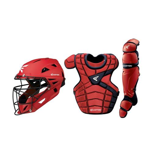 M10 CUSTOM CATCHERS SET ADULT RD/NY ,Red/Navy,medium