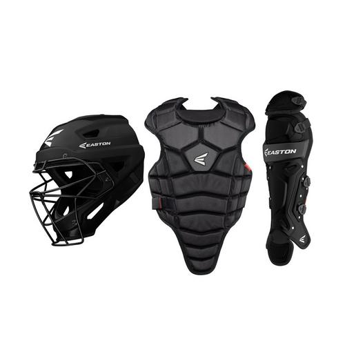 M5 QWIK FIT CATCHERS SET JR YTH BKBK,Black,medium