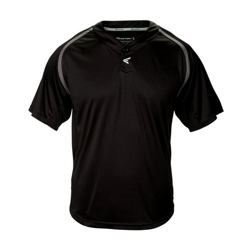 M7 2BTN HOMEPLATE JERSEY BKGTS,Black/Granite,medium