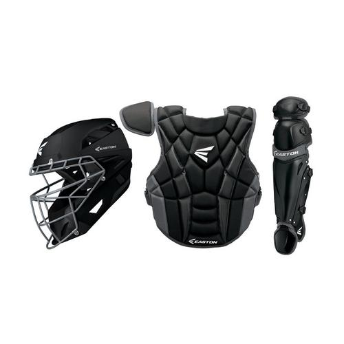 Prowess P2 Fastpitch Catcher's Box Set Int BK,Black,medium