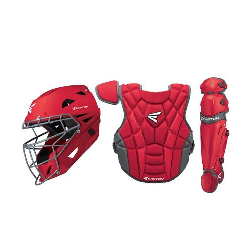 Prowess P2 Fastpitch Catcher's Box Set Int RD,Red,medium