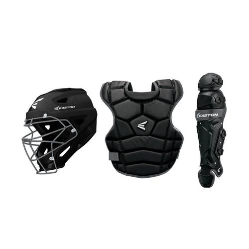 Prowess Qwikfit Fastpitch Catcher's Box Set Yth BK,Black,medium