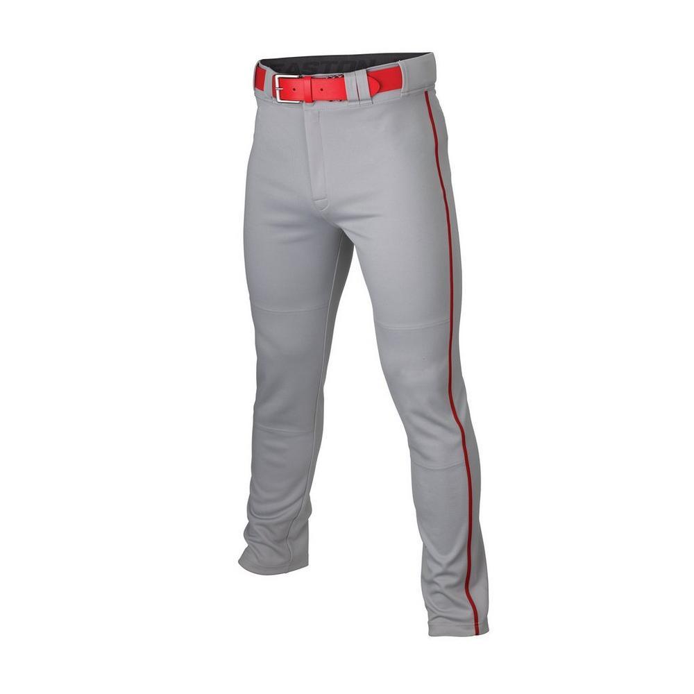 Grey/Red