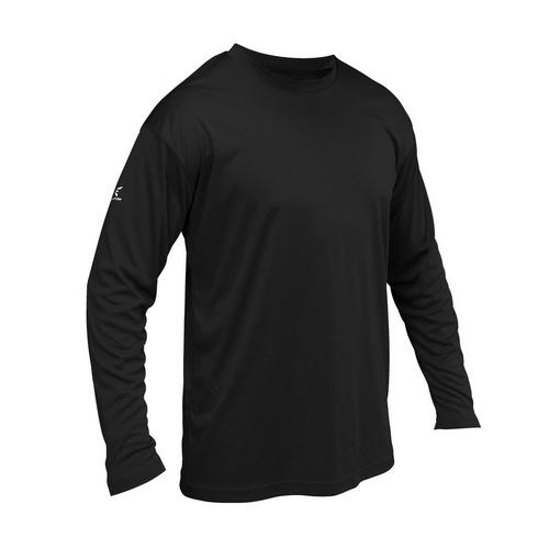 SPIRIT LONG SLEEVE JERSEY BK L,Black,medium