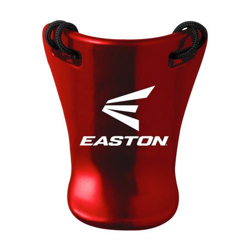 CATCHERS THROAT GUARD RD,Red,medium