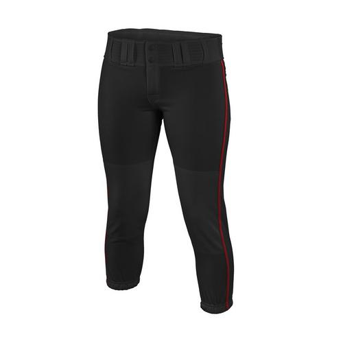 WM PRO PIPEPANT BKRD L,Black/Red,medium