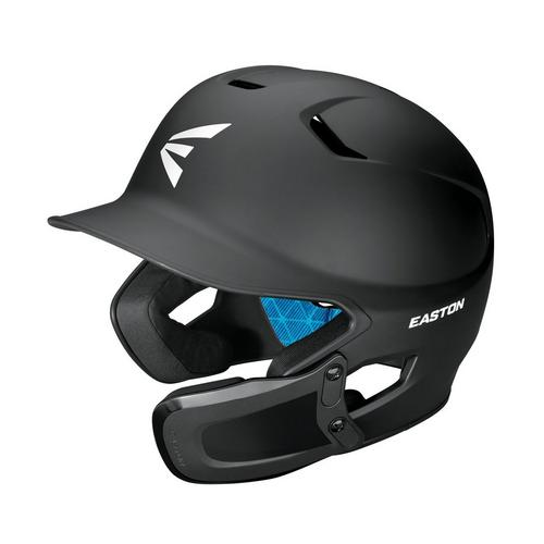 Z5 2.0 BATTING HELMET W/ U JAW GUARD SENIOR MATTE BLACK,Black,medium