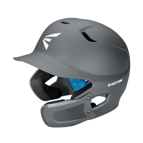 Z5 2.0 BATTING HELMET W/ U JAW GUARD SENIOR MATTE CHARCOAL,Charcoal,medium