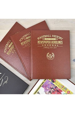 Personalised History Of Your Favourite Football Club Book
