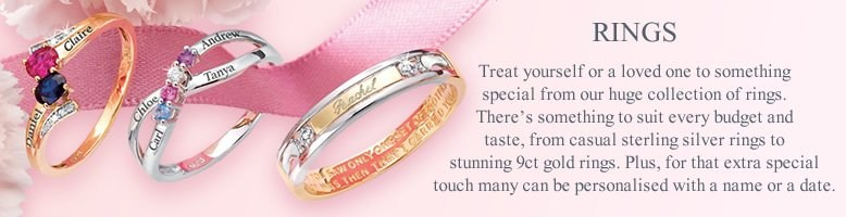 Rings, treat yourself or a loved one