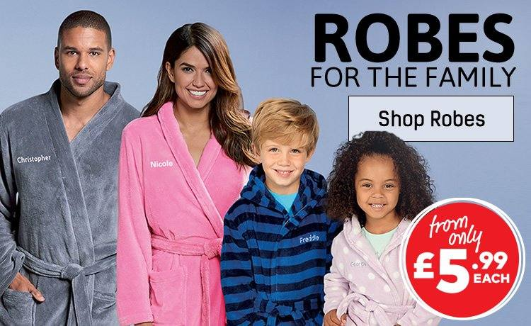 Robes For The Whole Family - Shop Robes
