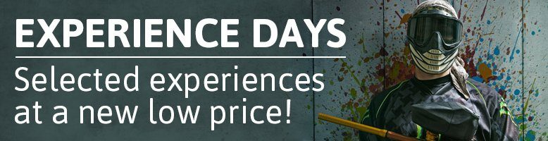 Experience Days - Selected experiences at a new low price!