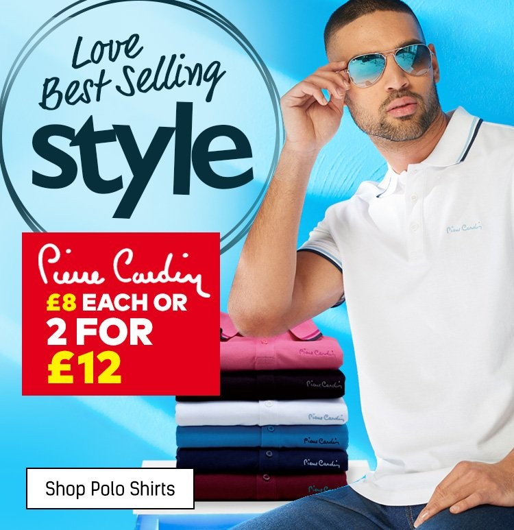Shop Mens Polo Shirts