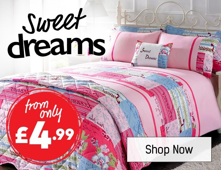 Sweet Dreams- Shop All Bedding