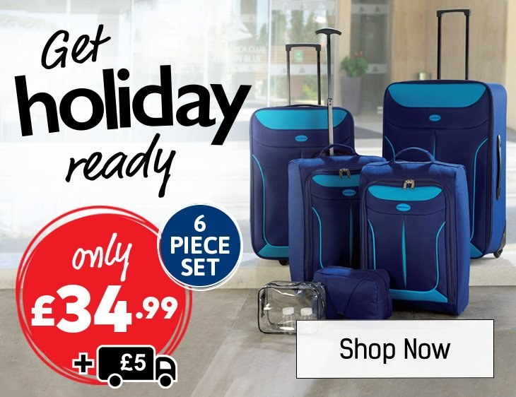 Get Holiday Ready - Shop All Luggage