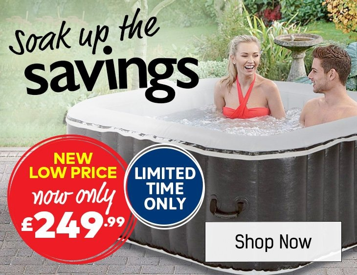 Soak Up The Savings - Shop Leisure Spas Now