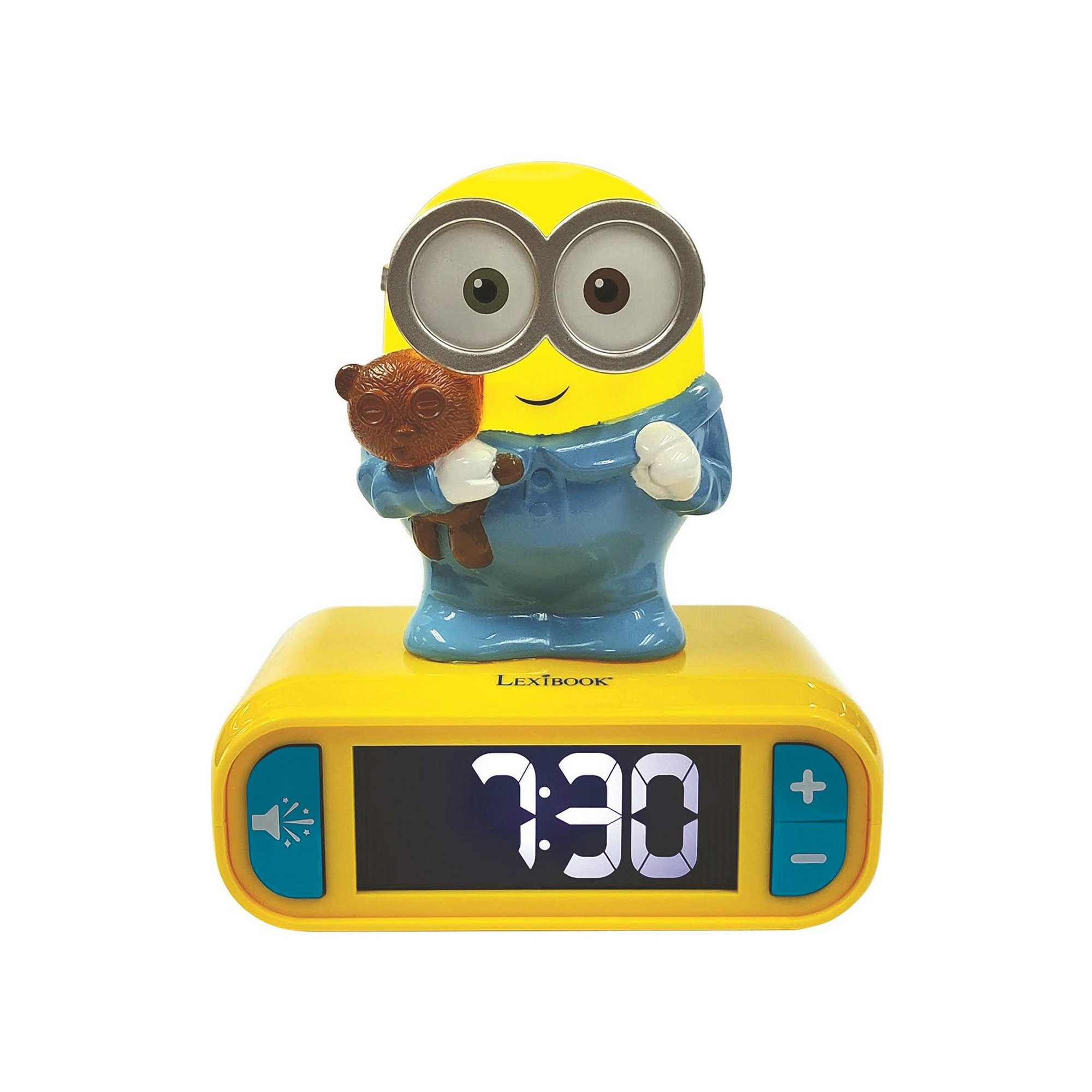 Image of Lexibook Despicable Me Minions Childrens Clock with Night Light