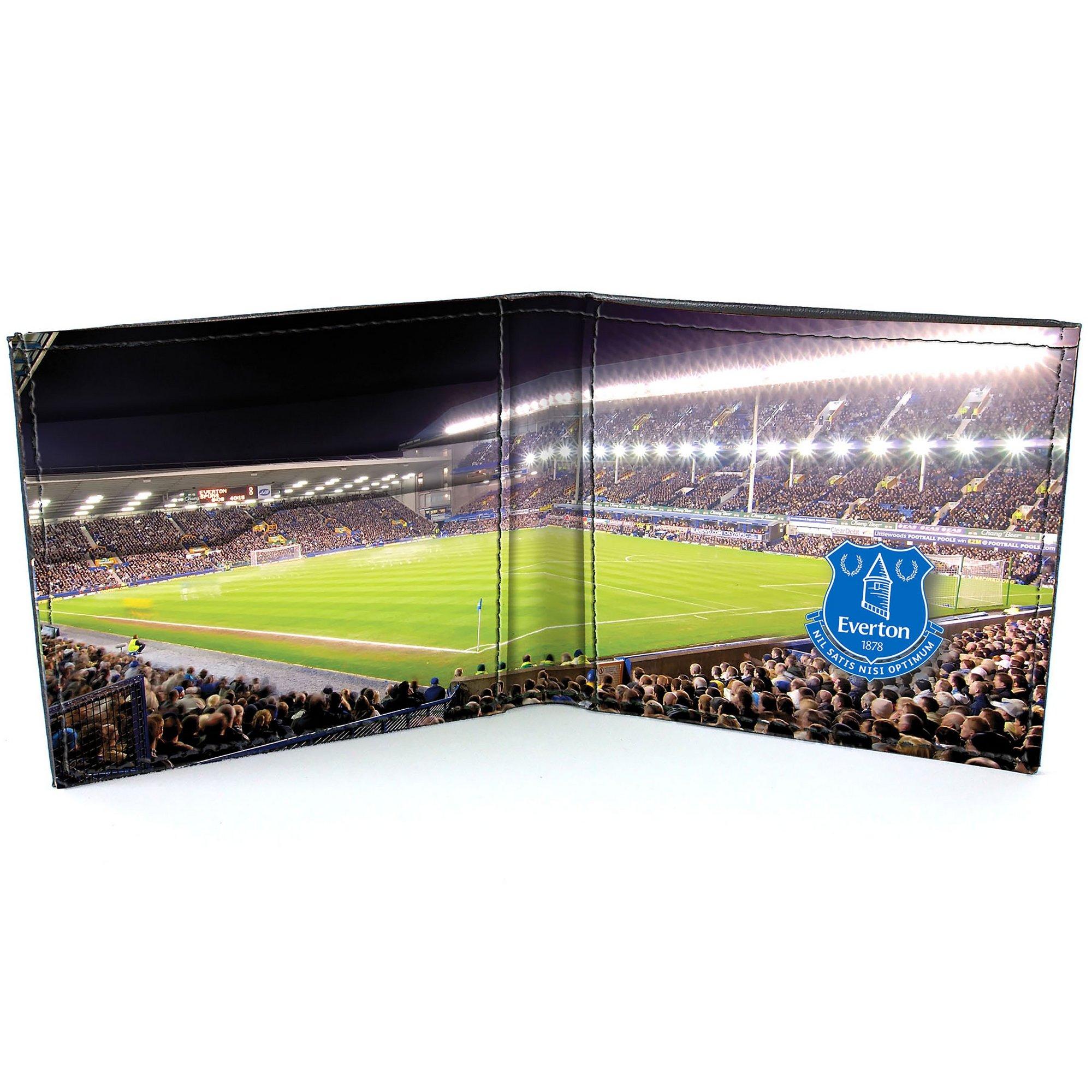 Image of Football Club Stadium Leather Wallet - Everton FC